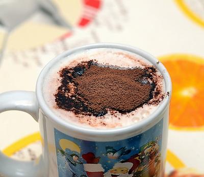 Какао Порошок в чашке