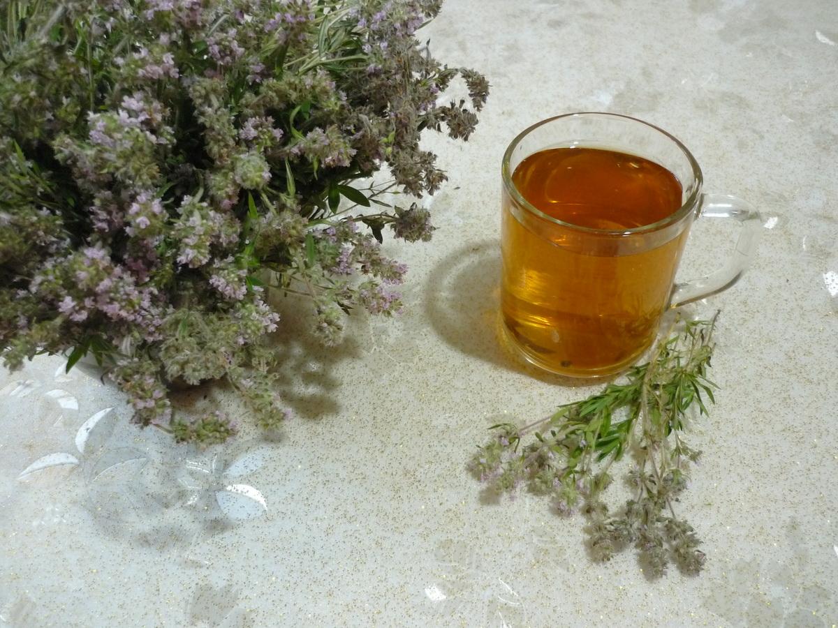 Чабрец-чай от простуды