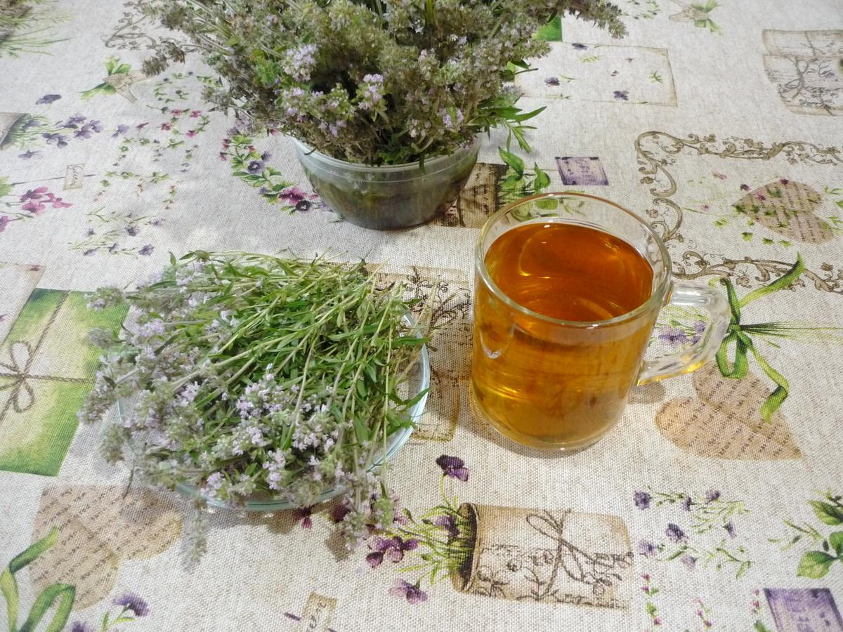 Чай с богородской травой