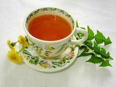Чашка чая из одуванчиков