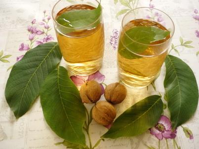 Чай из листиков грецкого ореха