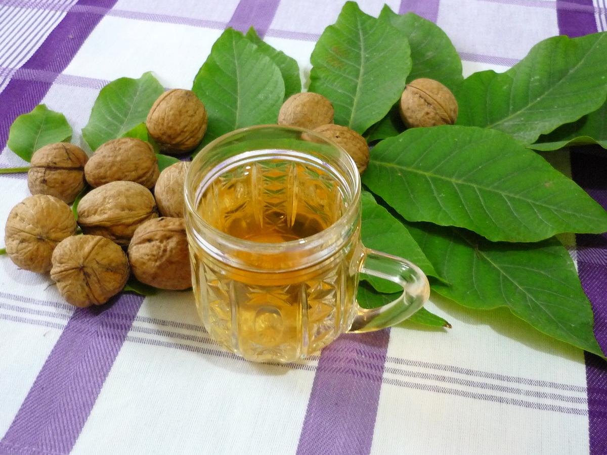 Грецкий орех: лечебные свойства перегородок. Как сделать 90
