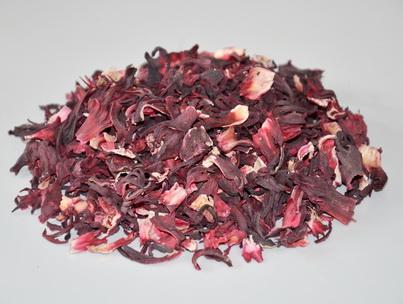 Чай Каркаде. Внешний вид