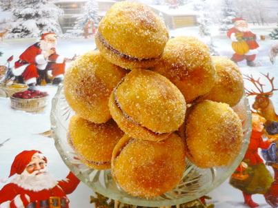 Готовое печенье Персики