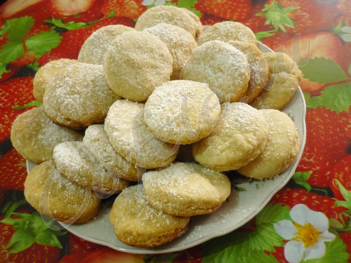 Готовое постное печенье