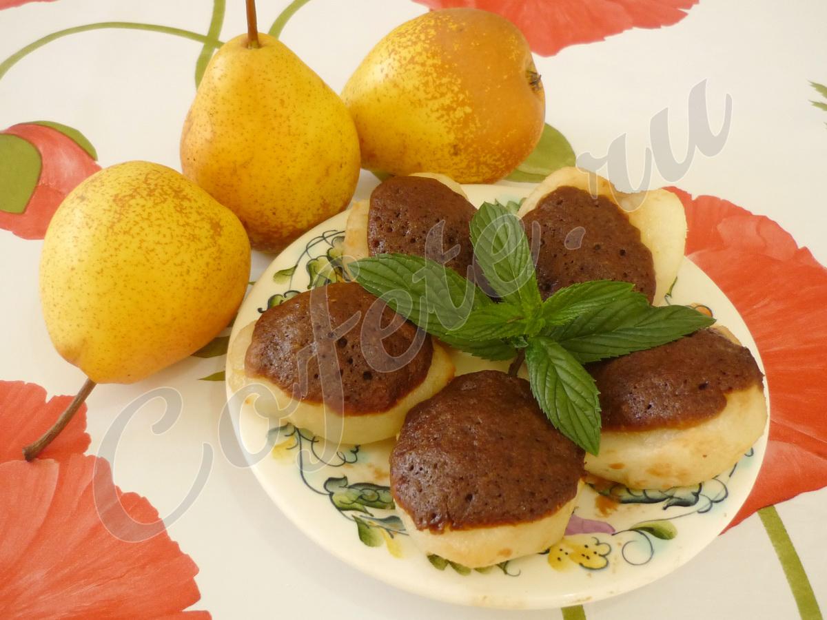 Готовый грушевый десерт