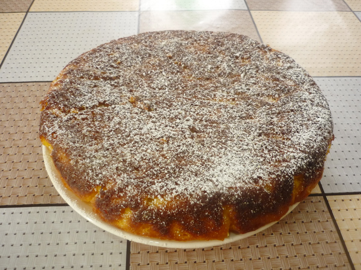 Манник на кефире пошаговый рецепт в духовке с ягодами