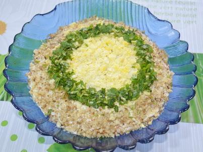 Салат с киви фото