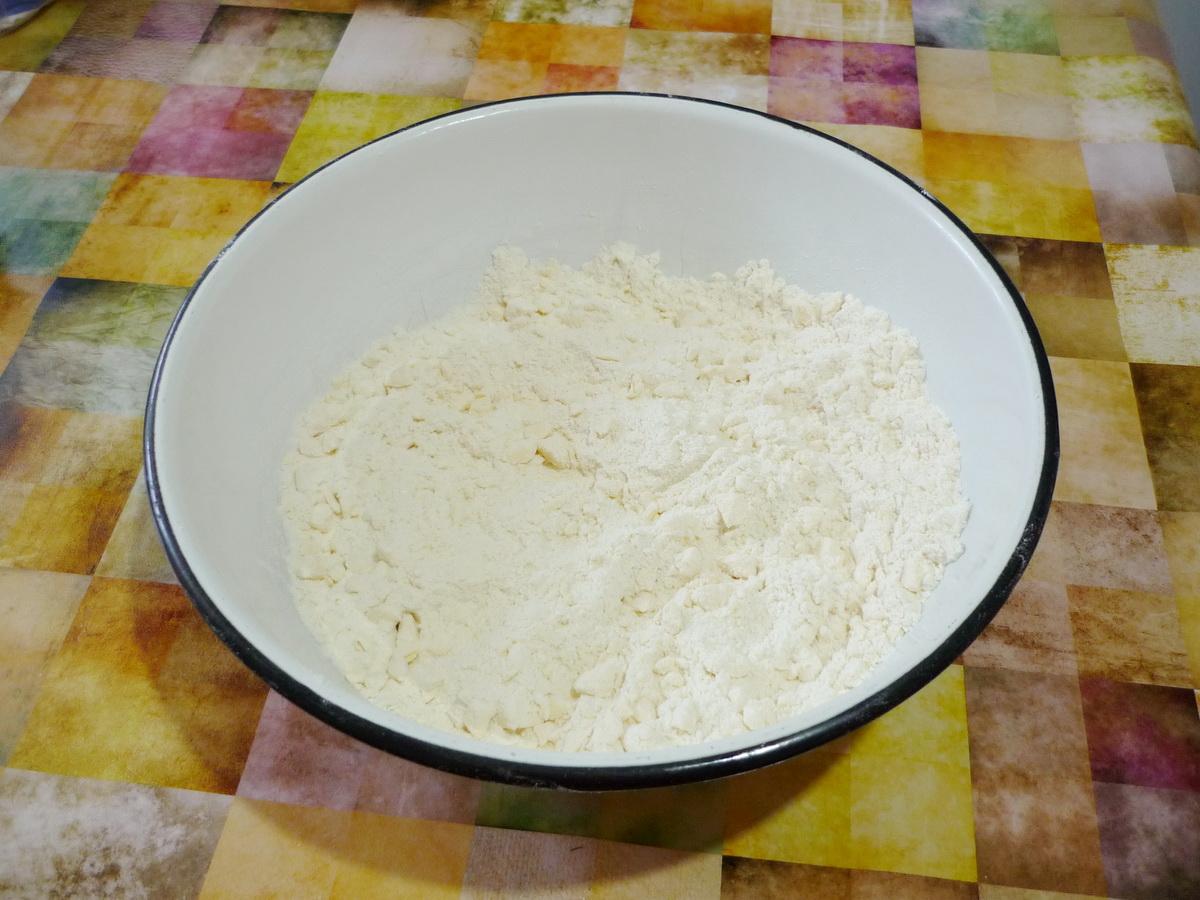 Готовим сухое тесто