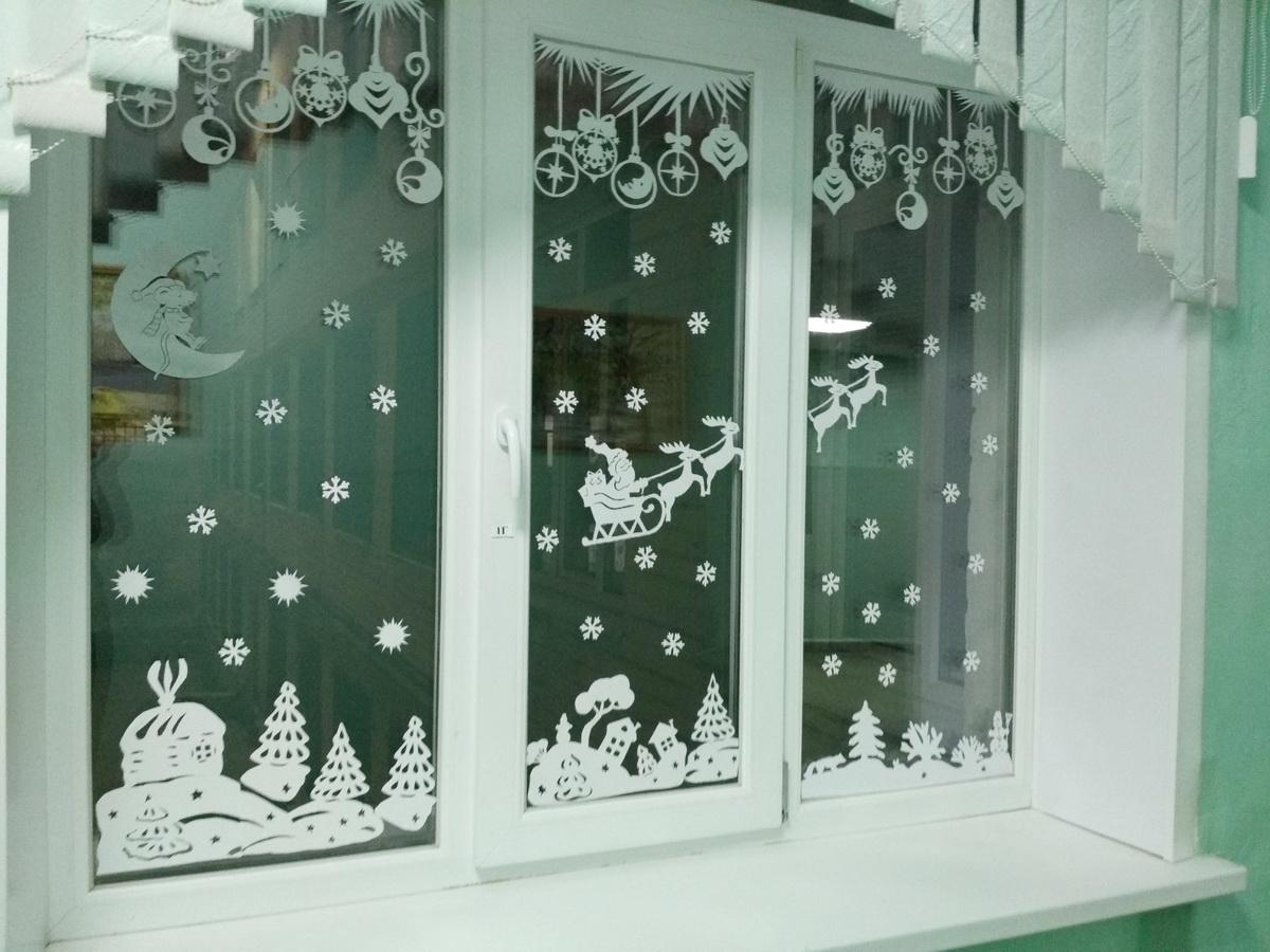 Вариант украшения окна