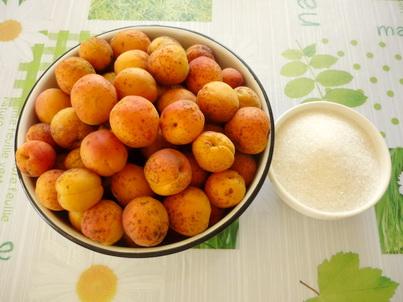 Ингредиенты абрикосового сока