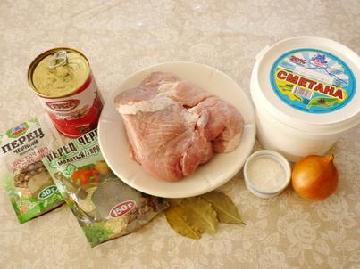 Свинина томатной пастой рецепт фото