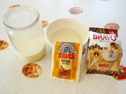 Ингредиенты кофе макиато