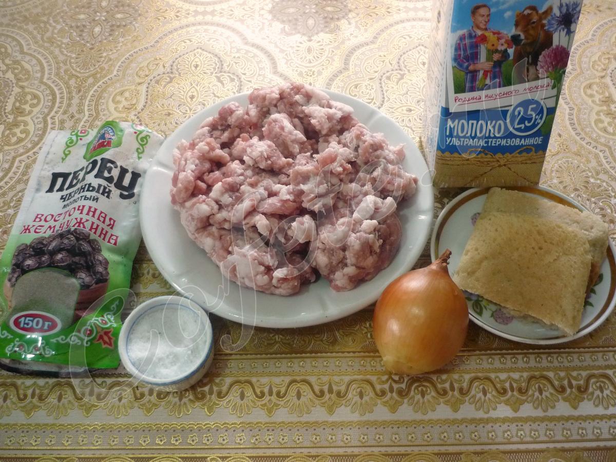 Ингредиенты люля-кебаб