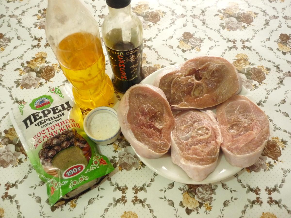 Ингредиенты стейков из индейки