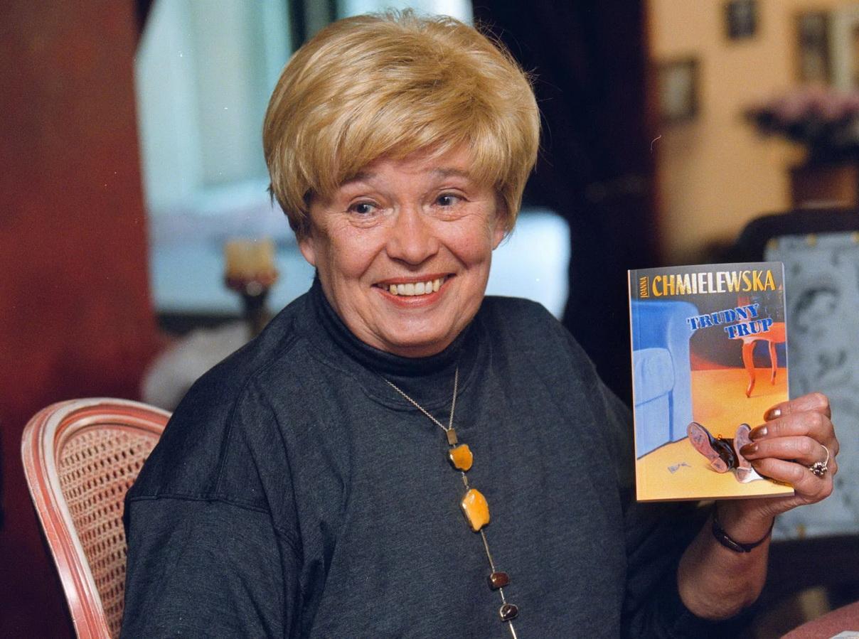 Иоанна Хмелевская представляет новую книгу