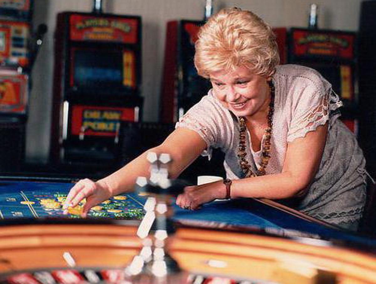 Пани Иоанна в казино