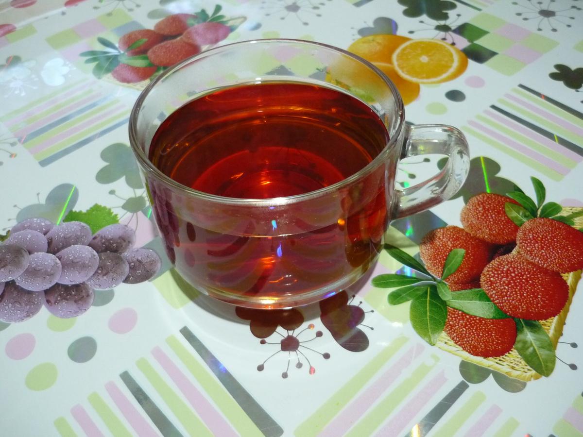 Яркий луковый чай