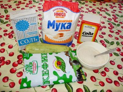 Ингредиенты кабачковых оладьев