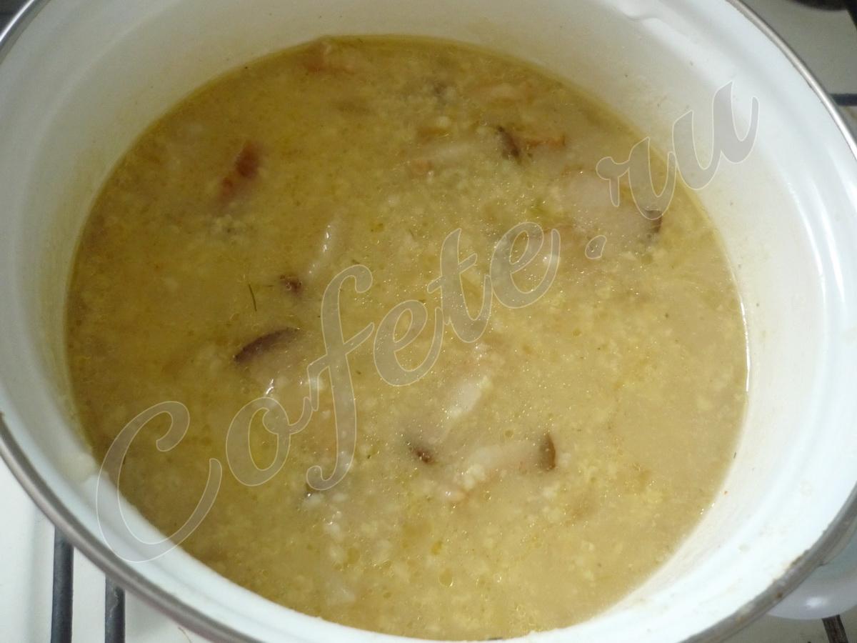 Кастрюля полевого супа