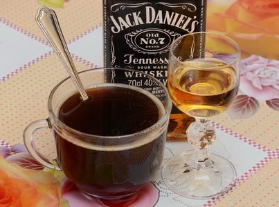 Кофе с виски Джек Дэниелс