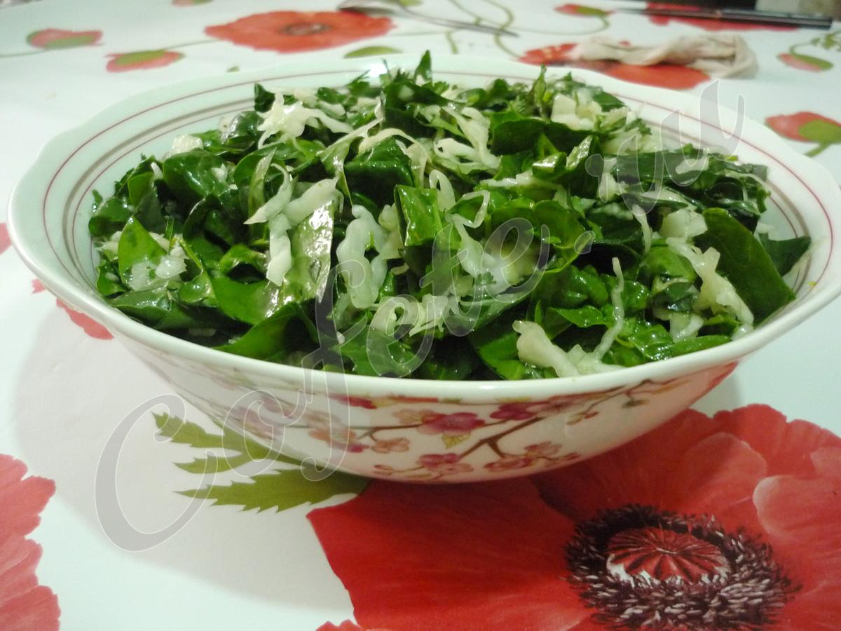Лёгкий осенний салат