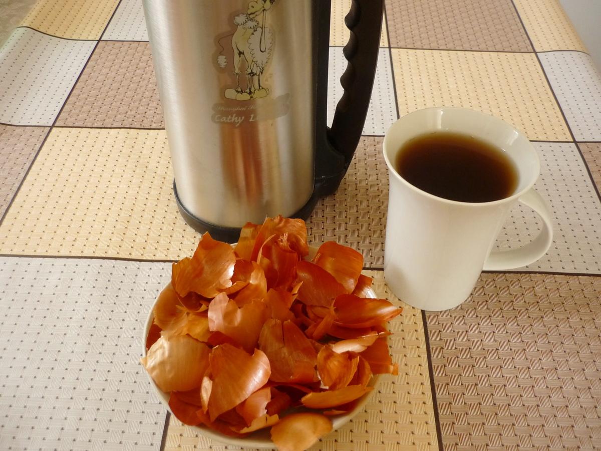 Луковый чай из термоса