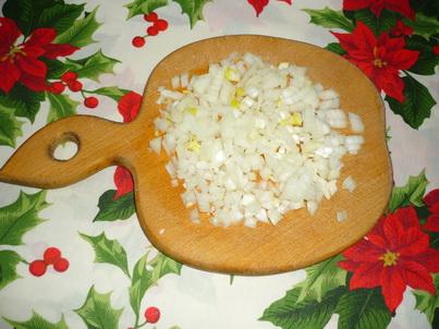 Режем лук для салата
