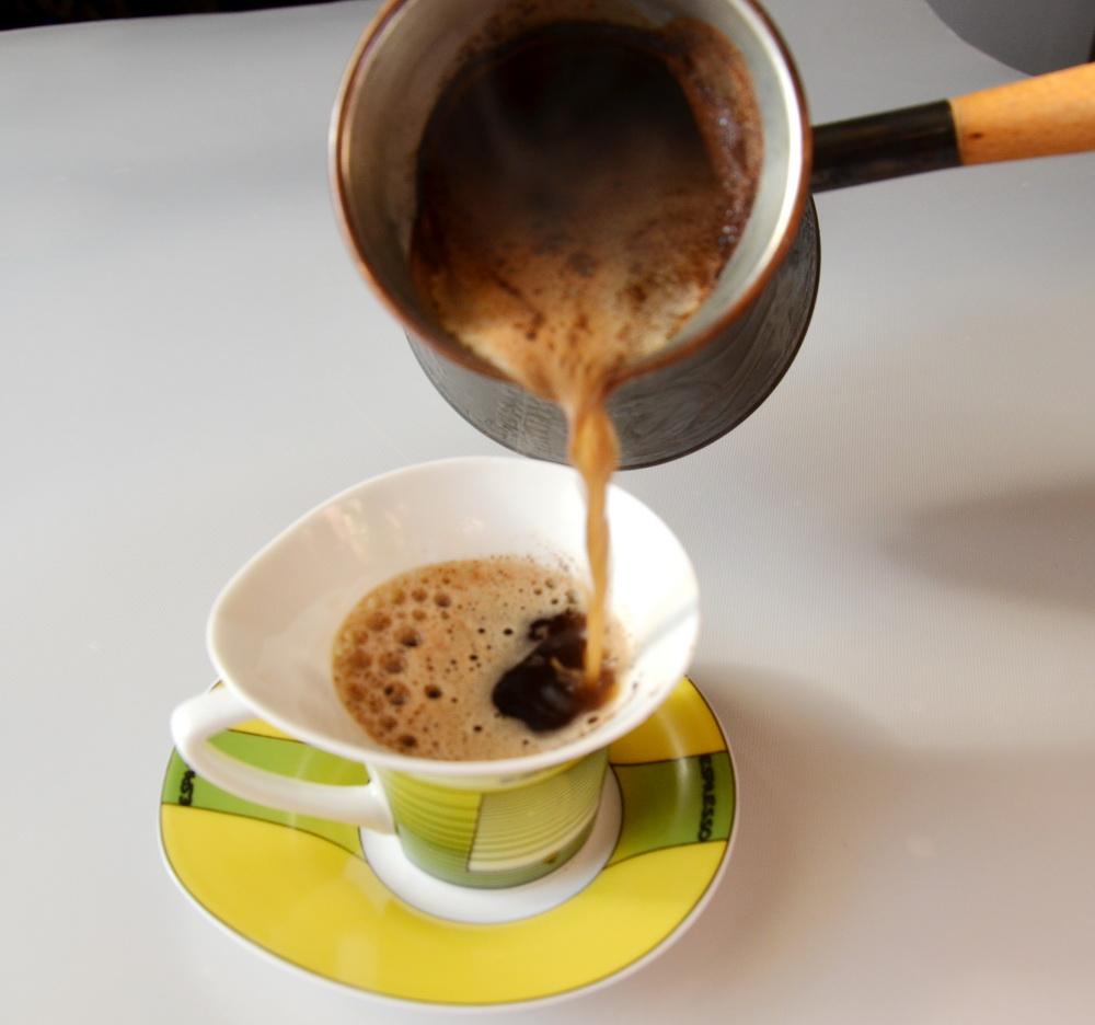как приготовить турецкий кофе с желтком
