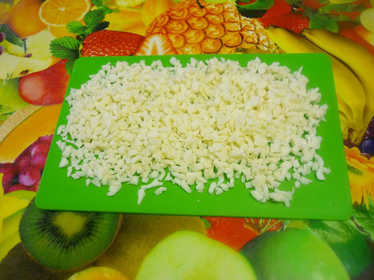 Измельчили сыр