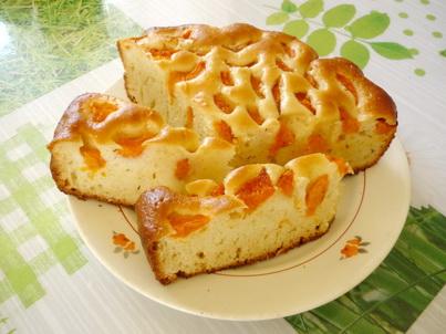 Нарезанный пирог