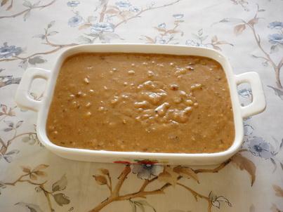 Переливаем десерт в формочку