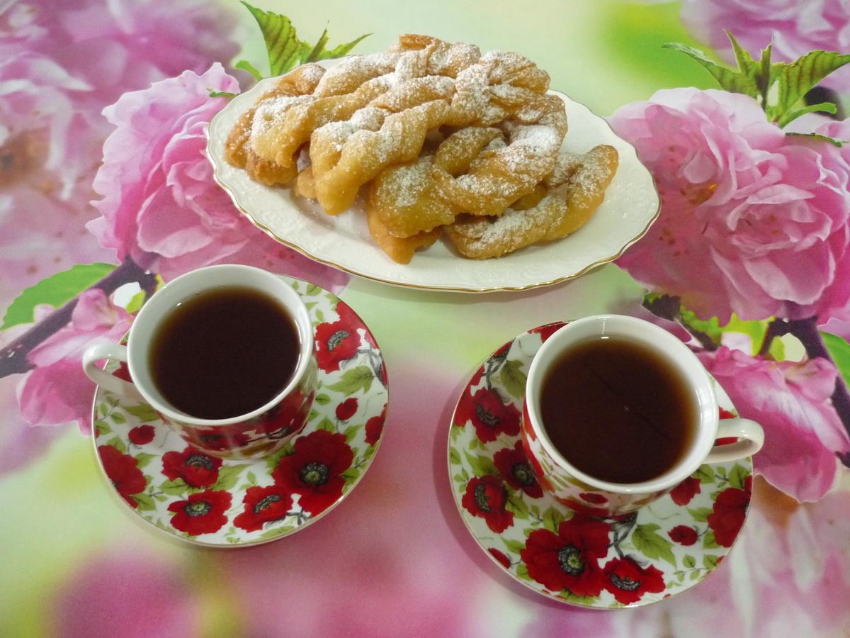 Печенье Хворост к чаю