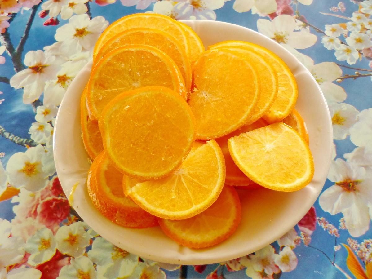 Как сделать из замороженных апельсинов