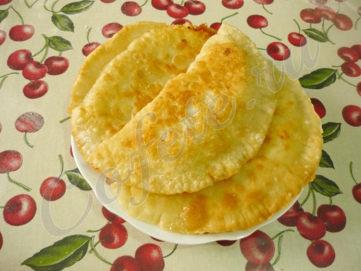 Постные чебуреки с картошкой