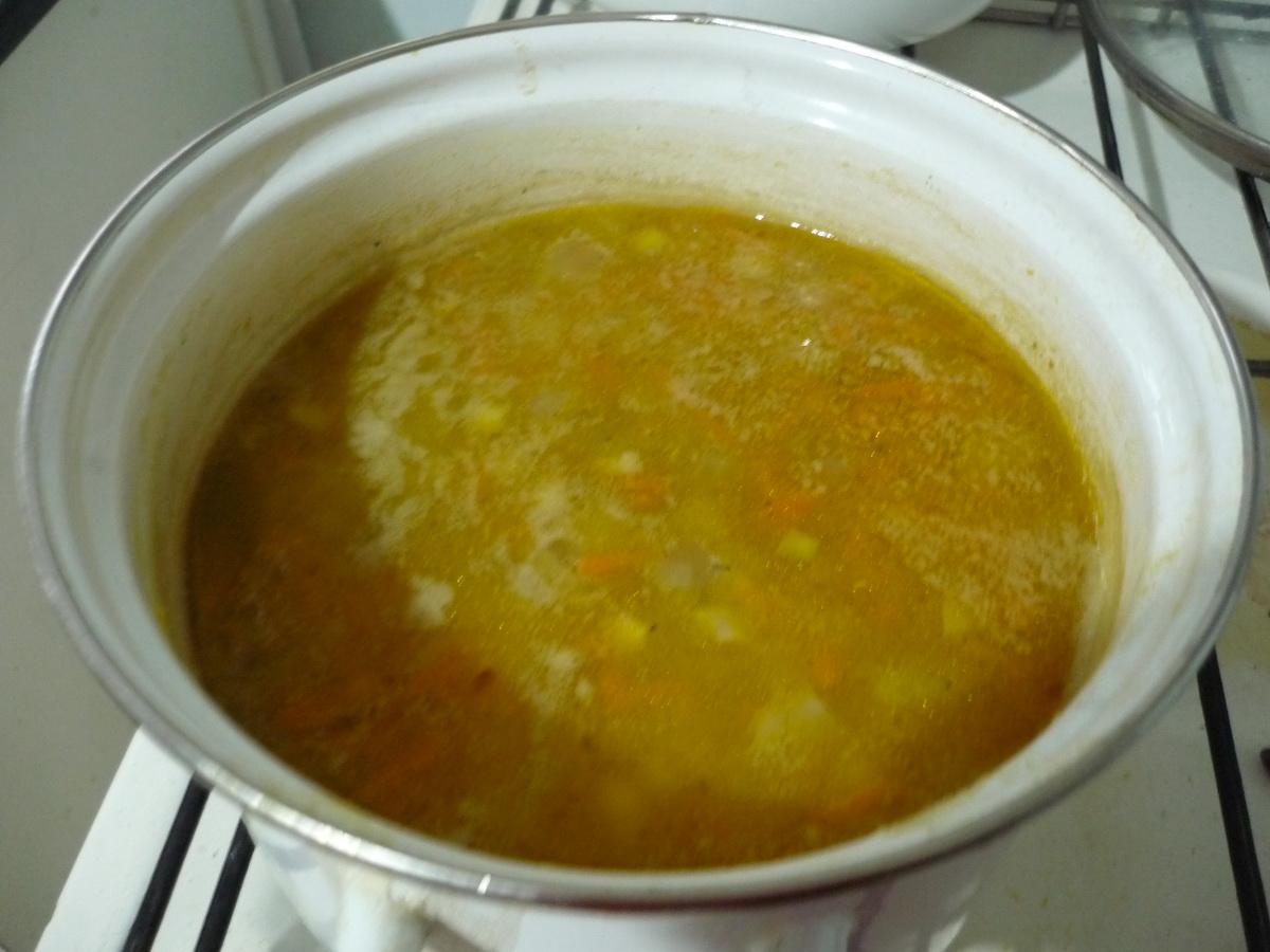 Постный суп почти готов
