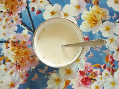 Разводим желатин в молоке