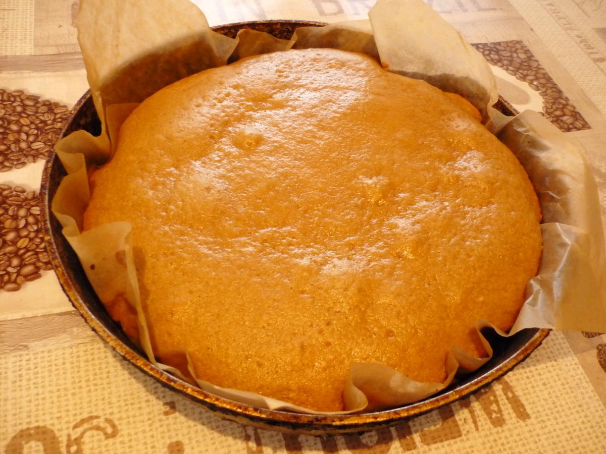 Румяный кофейный торт