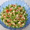 Салат из цветной капусты с овощами