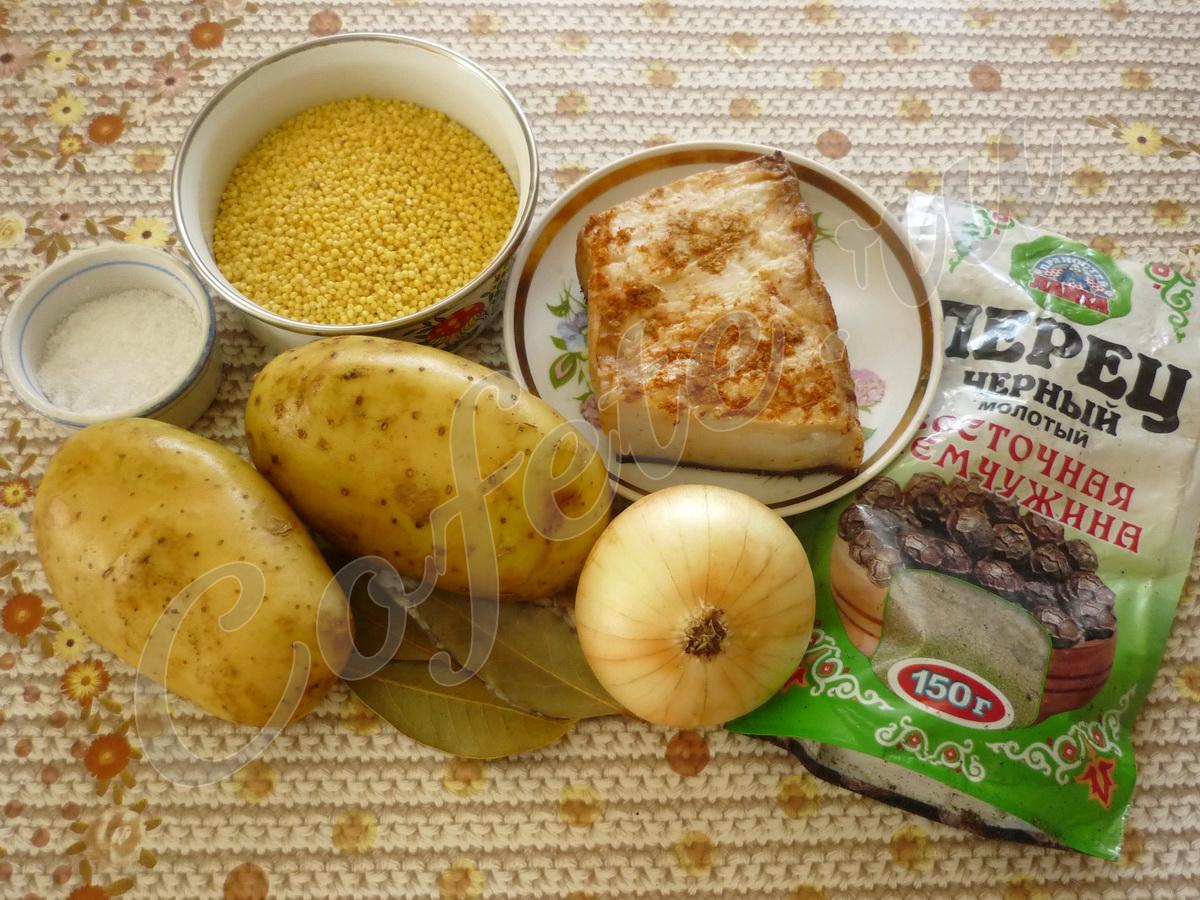 Ингредиенты полевого супа