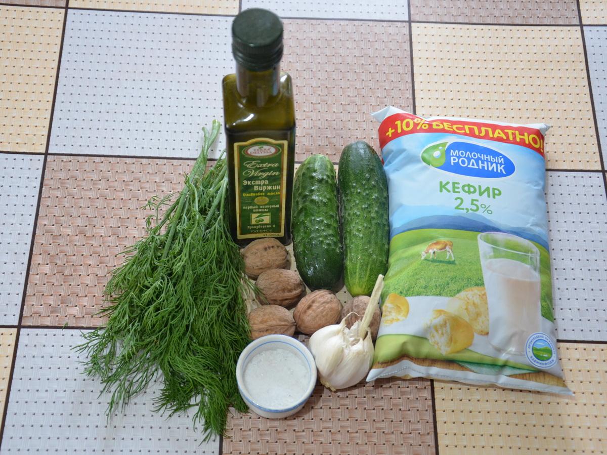 Суп таратор- ингредиенты