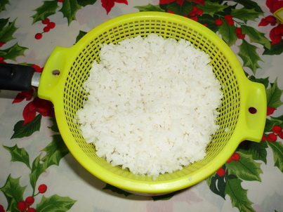 Сваренный рис