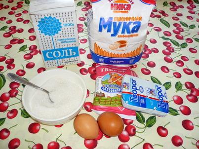 Сырники. Ингредиенты
