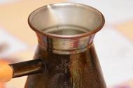 Турка для кофе с жарптицей
