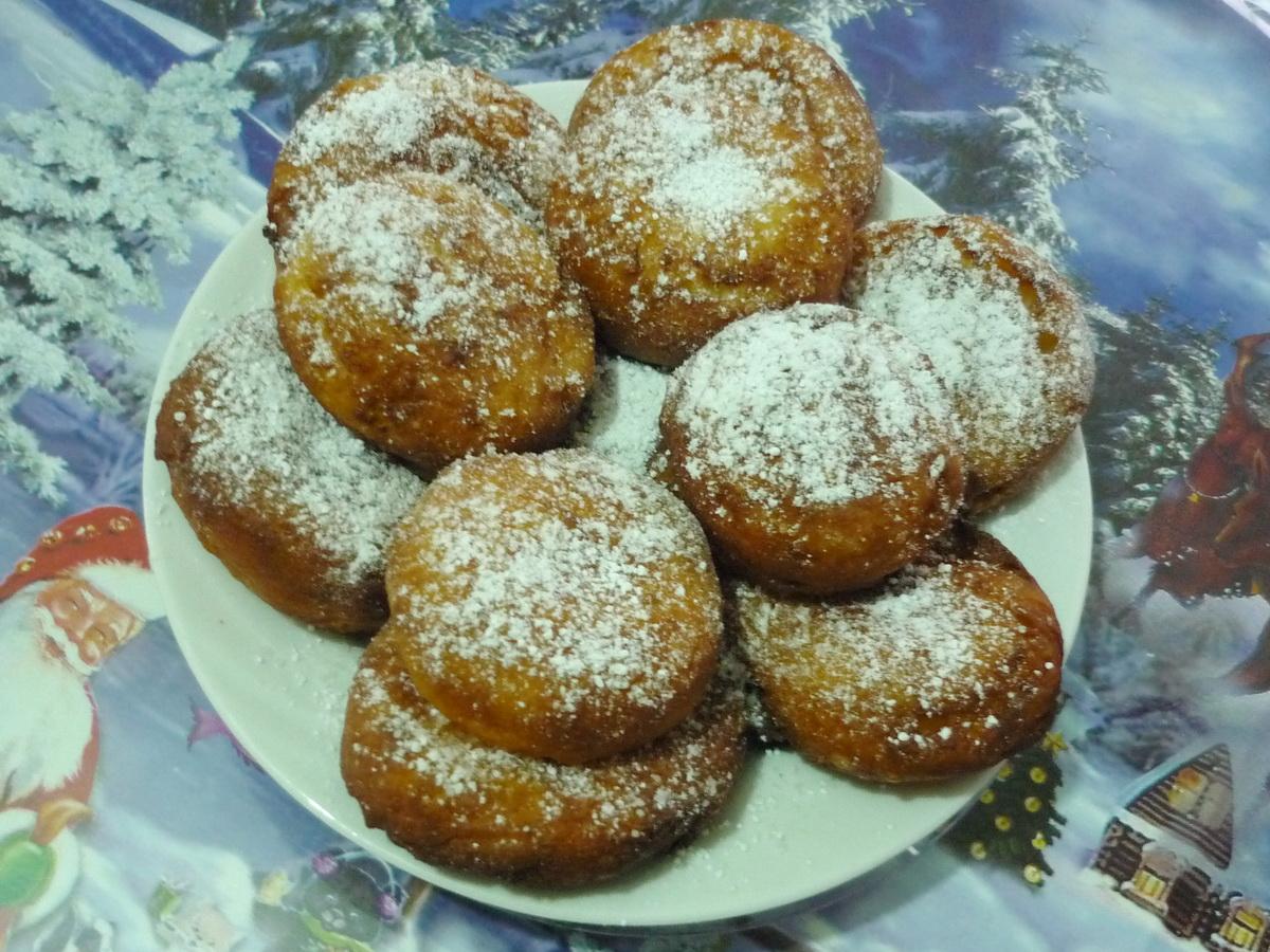 Творожные пончики Елены Чекаловой