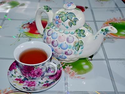 Заваренный чай Улун в чашке