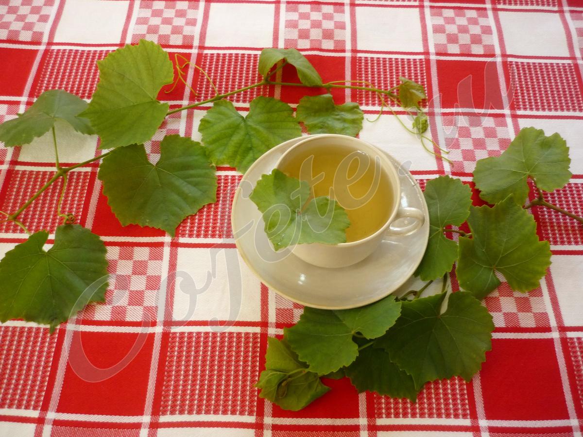 Виноградный чай