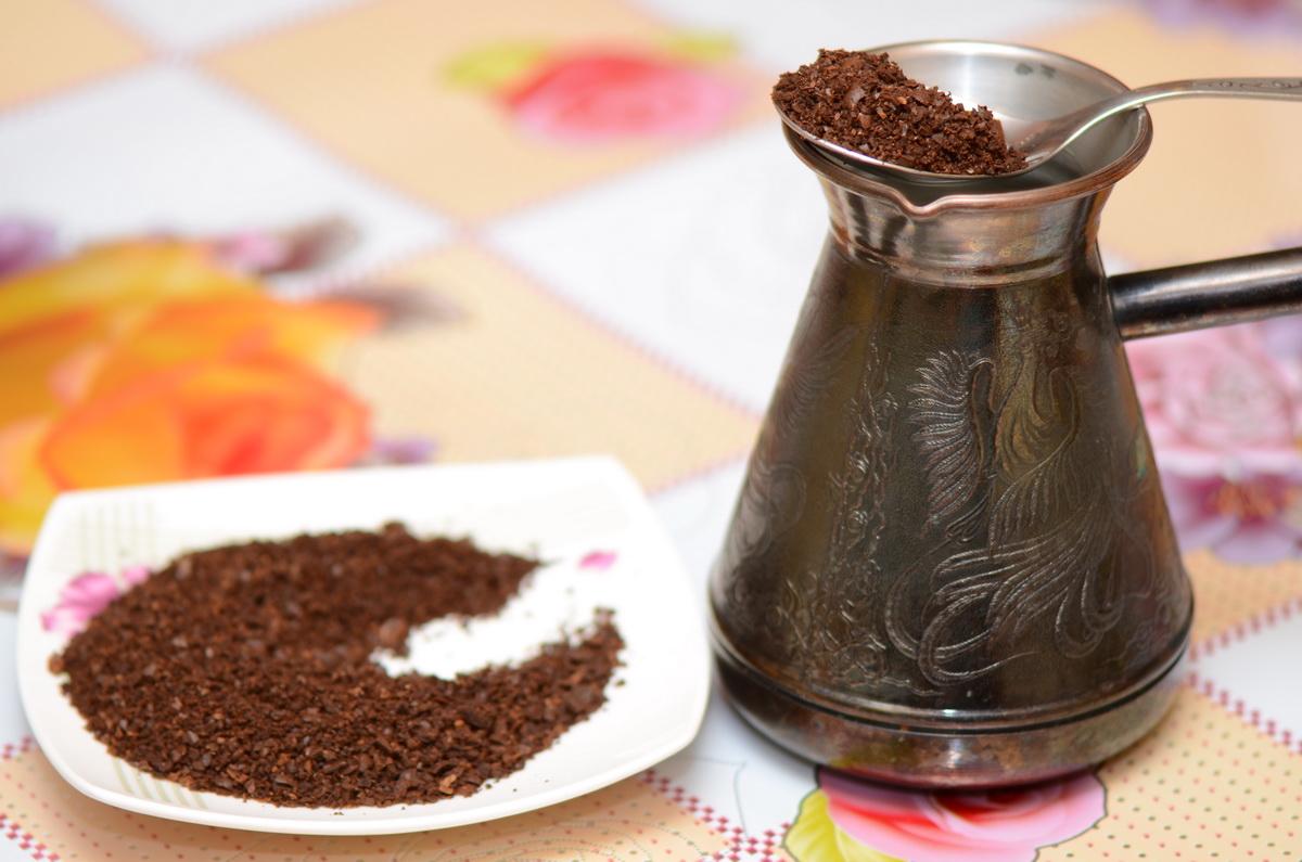 Как варить молотый кофе в турке на плите рецепт с фото пошагово
