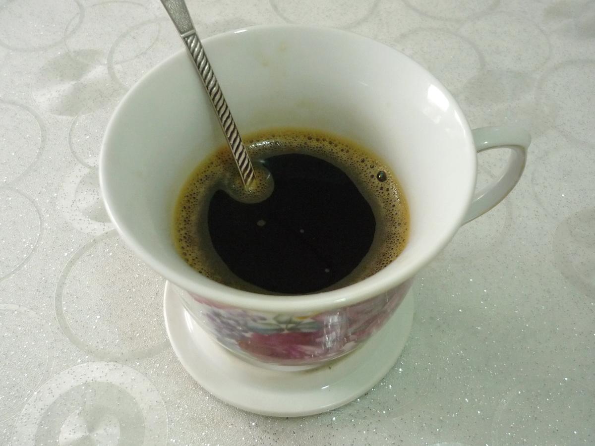 Завариваем молотый кофе