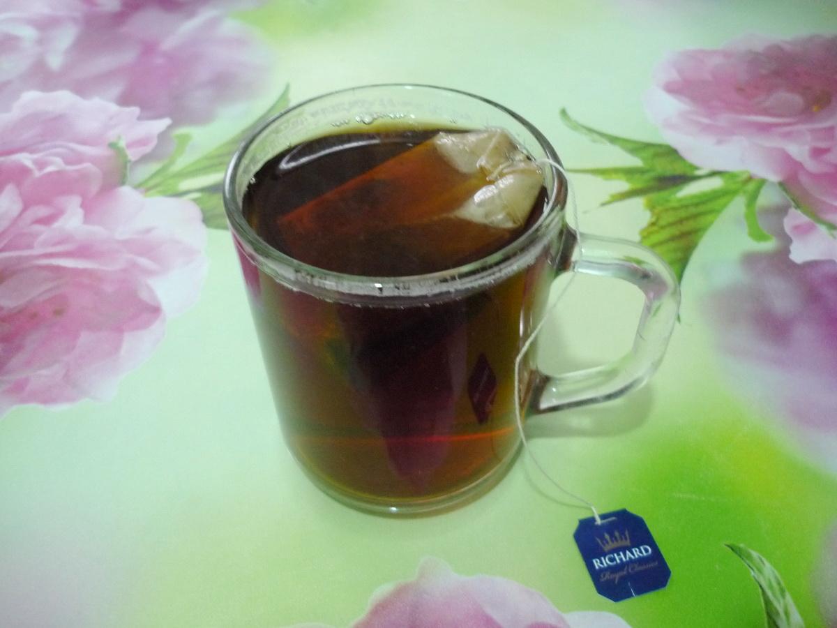 Заварили ароматный чай